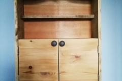 Rustic Bathrom Wall Cabinet