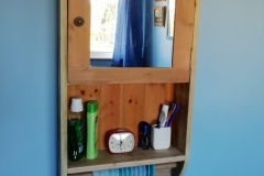 bathroom cabinet with mirror 2