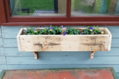 Pallet Wood Window box