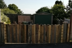 driveway gates made from recalimed pallet wood