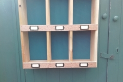 pallet wood pigeon holes