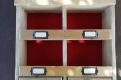 pigeon holes and drawers