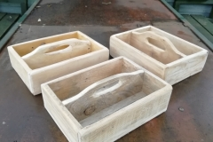 pallet wood caddies