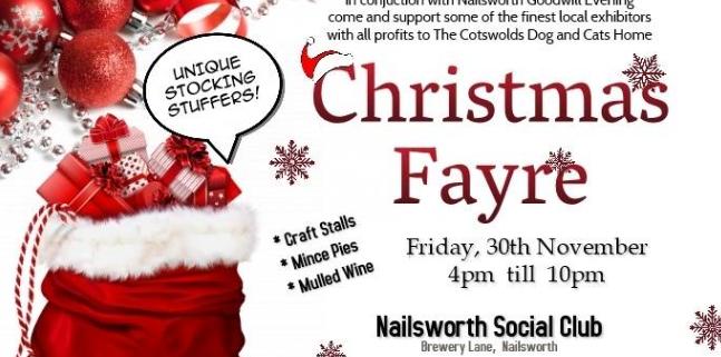 Nailsworth Goodwill Evening - Social Club