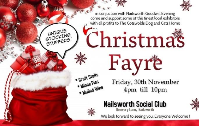 Nailsworth Goodwill Evening - Social Club
